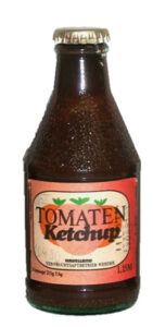Tomatenketchup vom VEB Havelland
