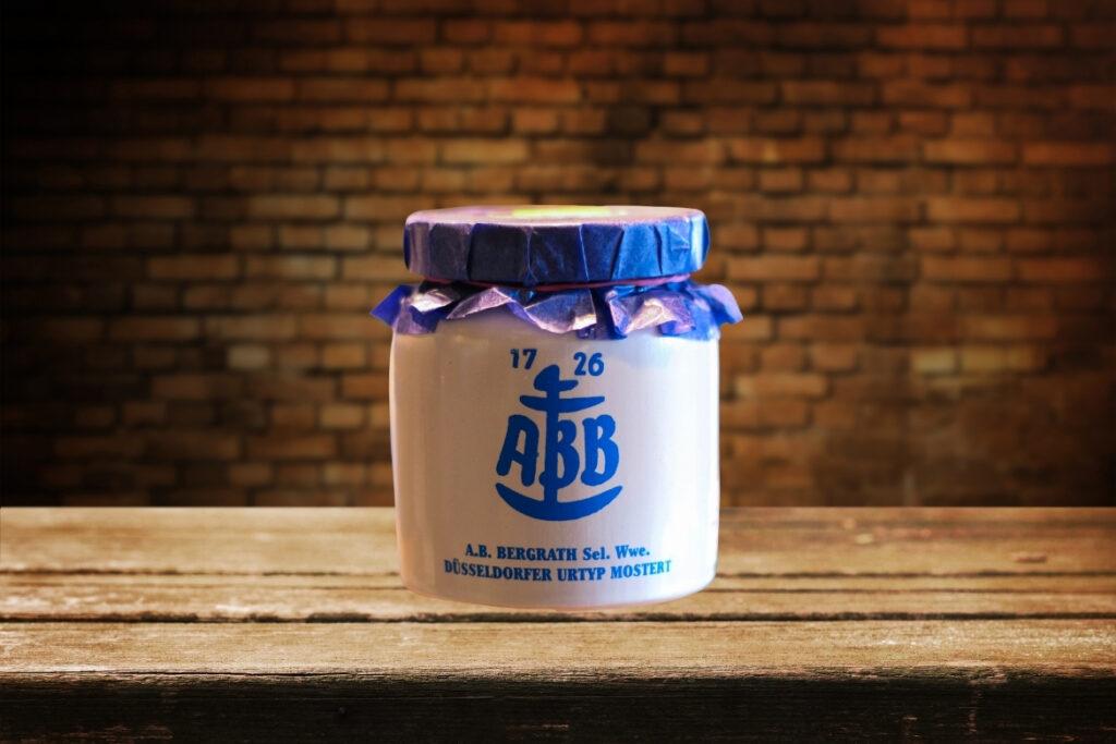 ABB aus Düsseldorf ist der älteste noch immer produzierte Senf Deutschlands